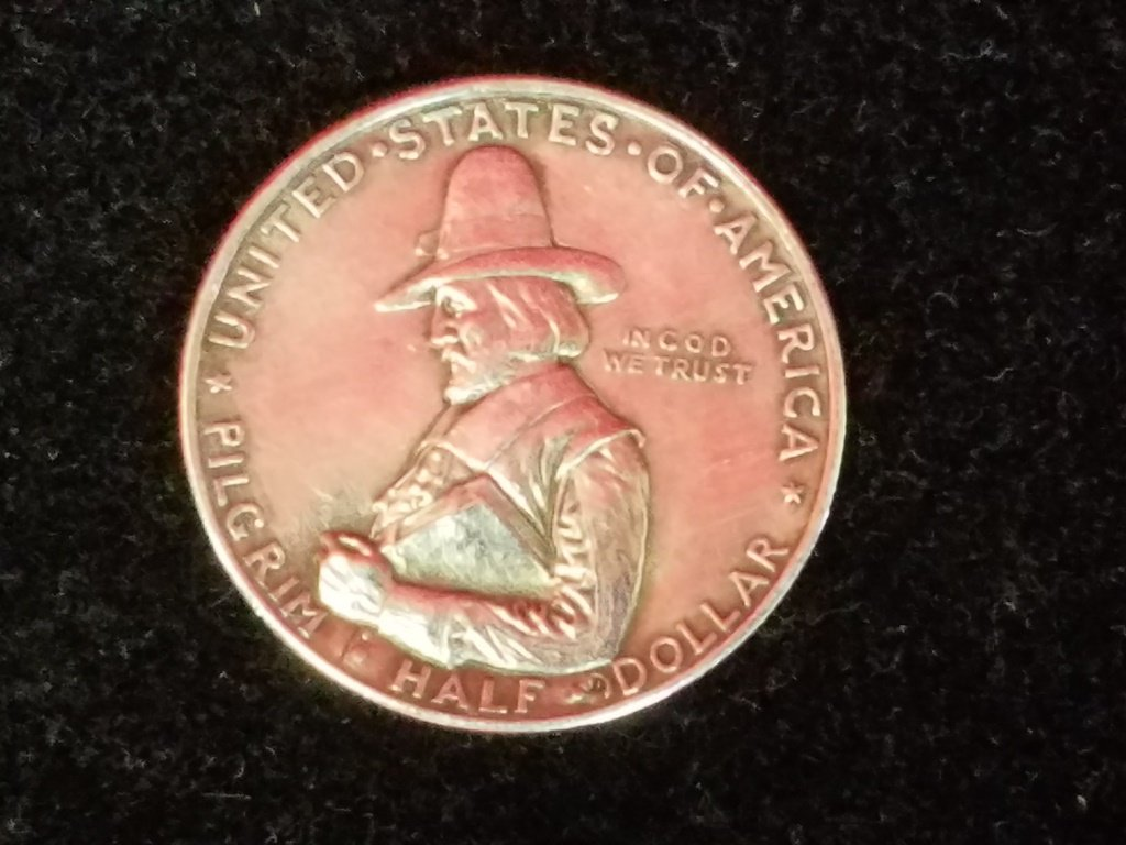 1620-1920 Pilgrim Tercentenary Silver Half Dollar