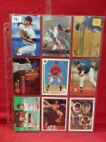 (9) Assorted Baseball Cards