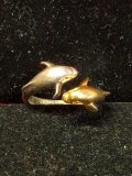 .925 Sterling Silver Dolphin Ring