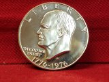 Specially Minted 1976-S Eisenhower One Dollar