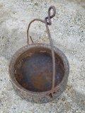 12 Gallon Cast Iron Pot