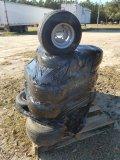 Appox 20 Golf Cart Tires W/ Rims