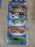 (5) Assorted Pontiac Hot Wheel Cars