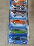(5) Assorted Plymouth & Dodge Hot Wheel Cars