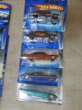 (5) Assorted Chevy Hot Wheel Cars
