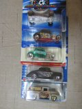 (5) Assorted Ford Hot Wheels Cars
