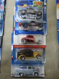 (5) Assorted Ford Hot Wheels