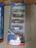 (5) Assorted Dream Garage Hot Wheel Car