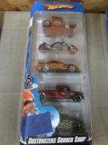 (5) Customizers Corner Shop Hot Wheel Cars
