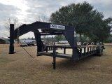 7ft x 32ft Cowboy Gooseneck Flat Bed