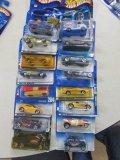 (16) Assorted Hot Wheels Cars
