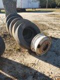 (5) 255 / 70 R 22.5 Tires