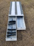 Aluminum Storage Tray W/ 2 Pull Out Drawers