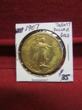 1907 Twenty Dollar Gold Coin