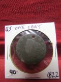 1822 US One Cent