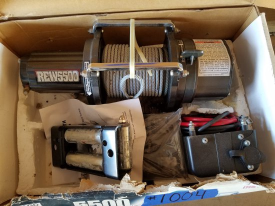 Chicago Electric Winch *NEW*