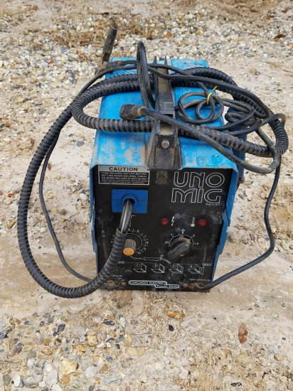 Chicago Electric Wire Welder W/ Leads WORKS