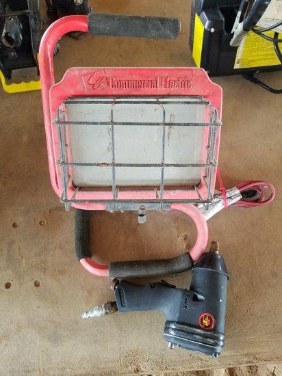 Portable Halogen Work Light & Proformance Air