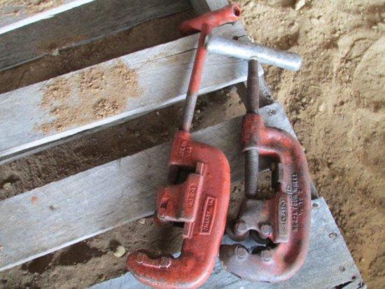 Craftsman Pipe Cutter & Ridgid Pipe Cutter