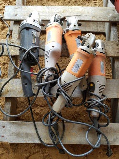 """(4) 7"""" Chicago Electric Sander/Polisher"""