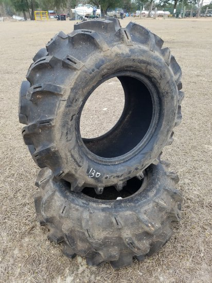 (2) Good Year AT25 X 10.00-12 Tires