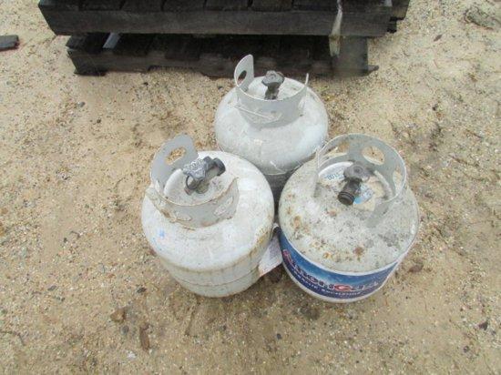 (3) 5gal Propane Tanks