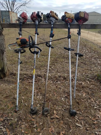 (5) Assorted Weedeaters & STIHL Edger