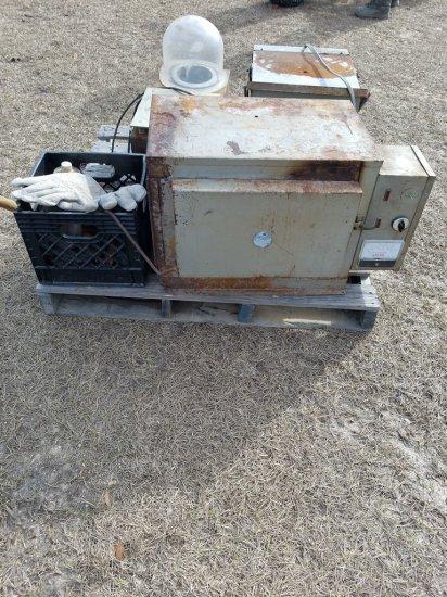 Cress Electric Kiln, Vigor Electric Burnout