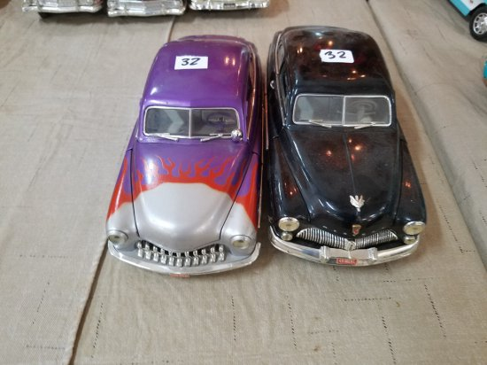 (2)1949 Mercury Coupe Model Cars