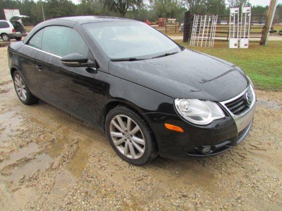 2009 Volkswagen EOS Hard Top Convertible *RUNS*