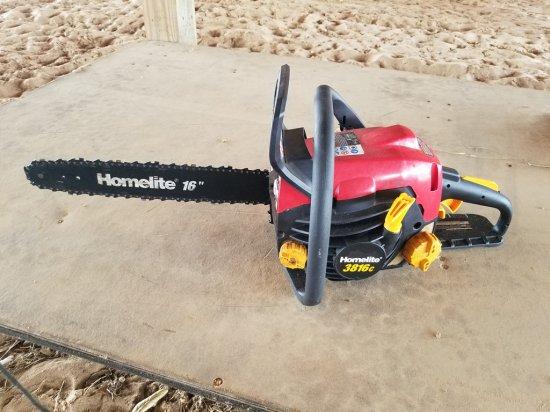 Homelite Chainsaw WORKS