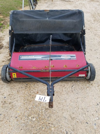 Pull Behind Craftsman Lawn Sweeper