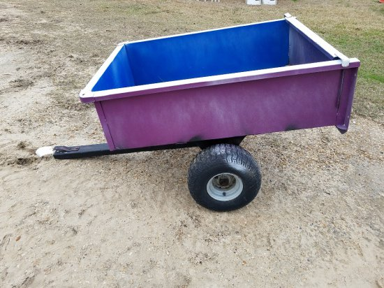 Pull Behind Wagon W/ Tailgate
