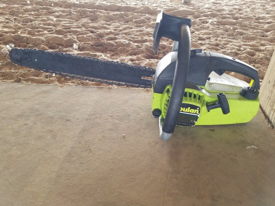 "Poulan Chainsaw 16"" Bar RUNS"