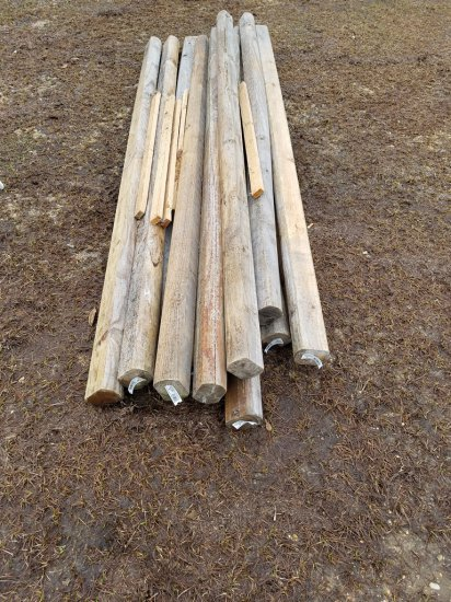 (12) 8ft Landscape Timbers