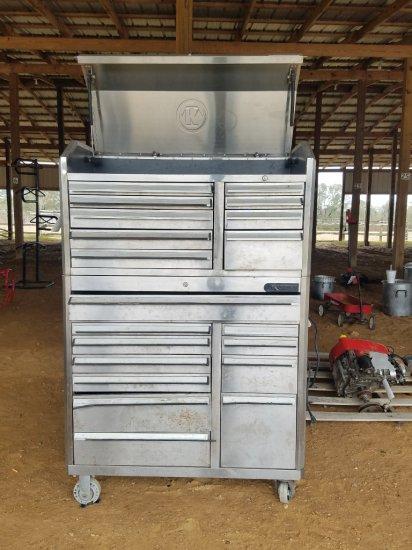 Kobalt Stackable Tool Box On Wheels W/ Key
