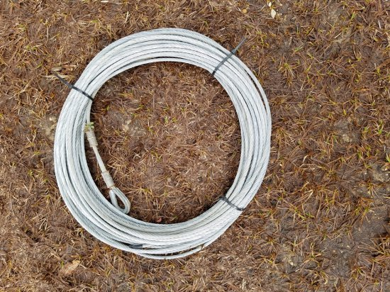 Roll Of 100ft Wire Cable 5/16""