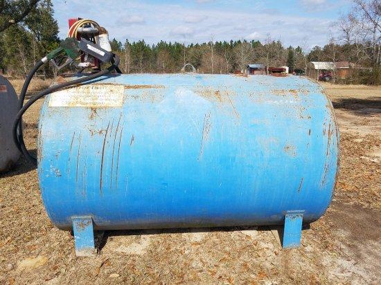 500gal Tank W/ Pump