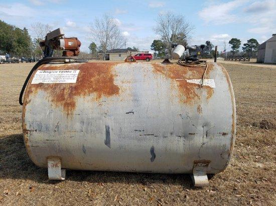 500gal Tank W/ 2 Pumps