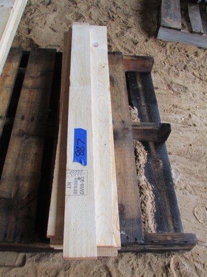 """(12) 4"""" x 4"""" x 7' 10"""" Fir Lumber"""
