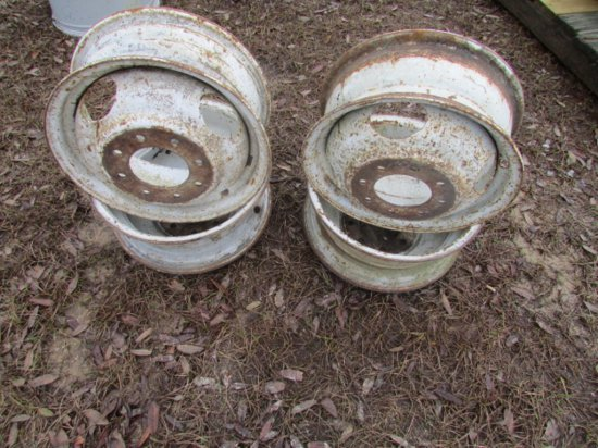"(4) 16"" Ford Rims W/8 Lugs"