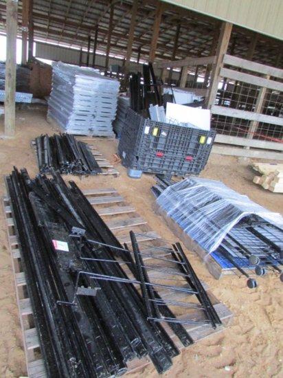 Peg Board Warehouse Shelving