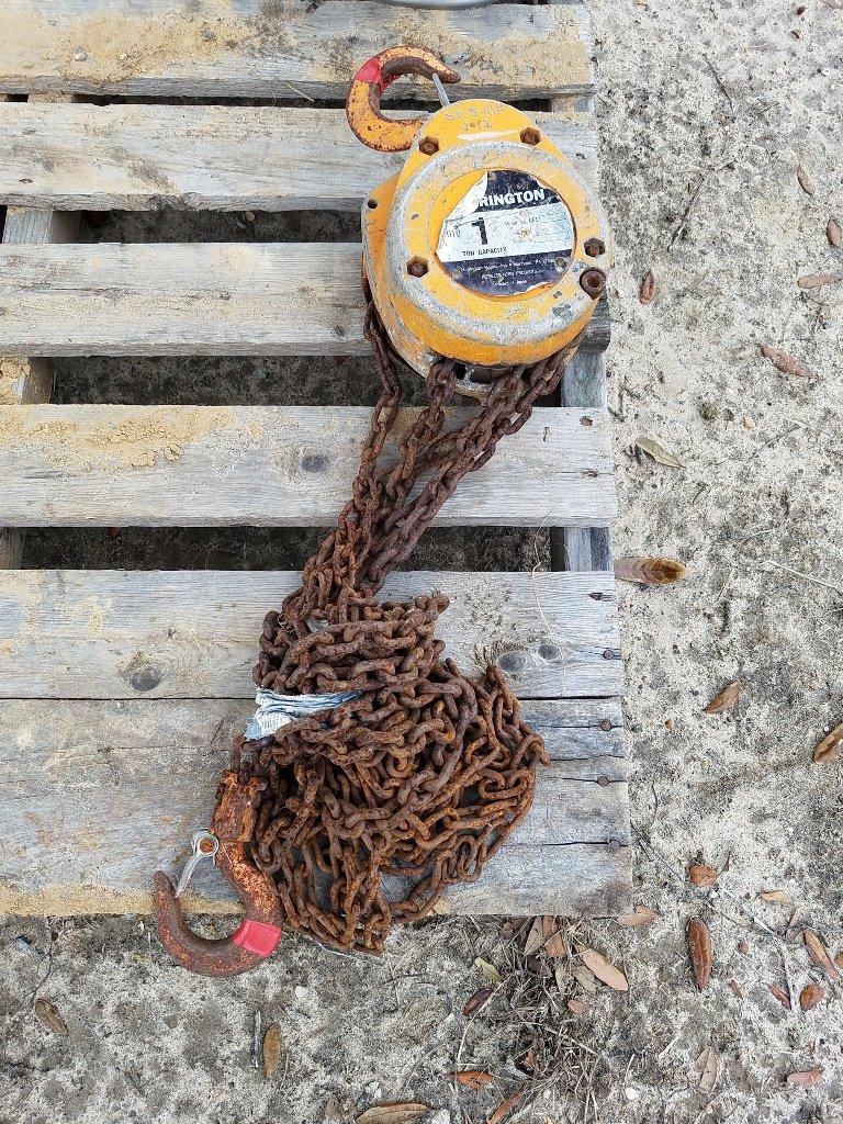 1 Ton Chain Hoist