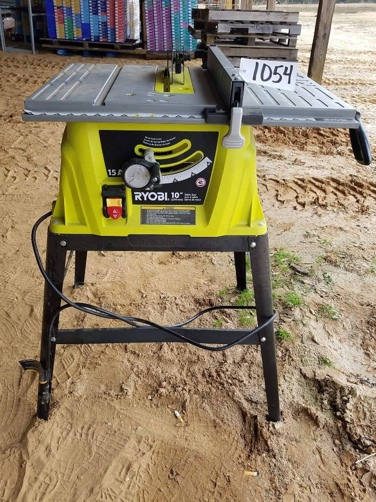 "Ryobi 10"" Table Saw WORKS"