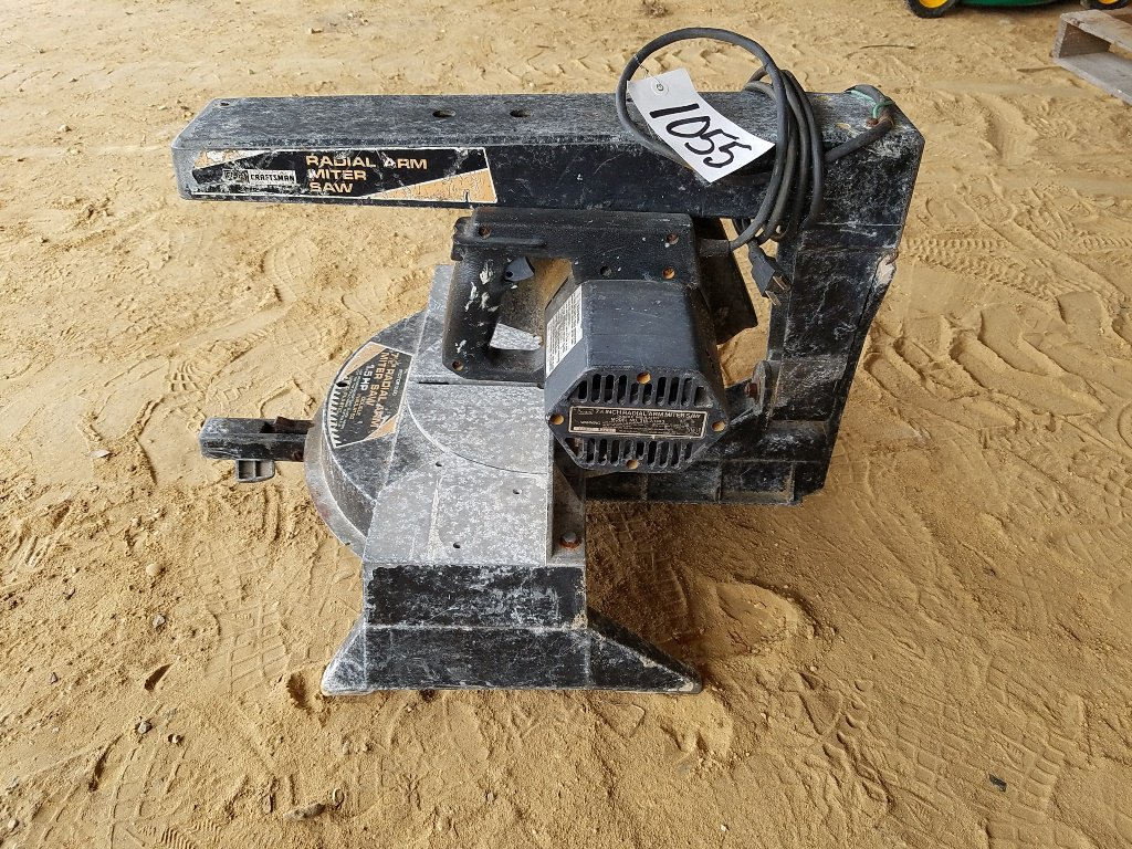 "7½"" Craftsman Radial Arm Saw *Works*"