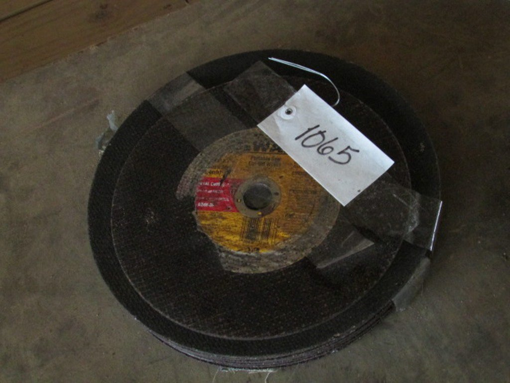 Portable Saw Cut-Off Wheels