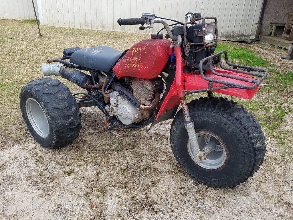 Honda 3 Wheeler DOES NOT RUN