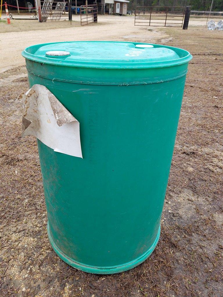 55gal Plastic Drum