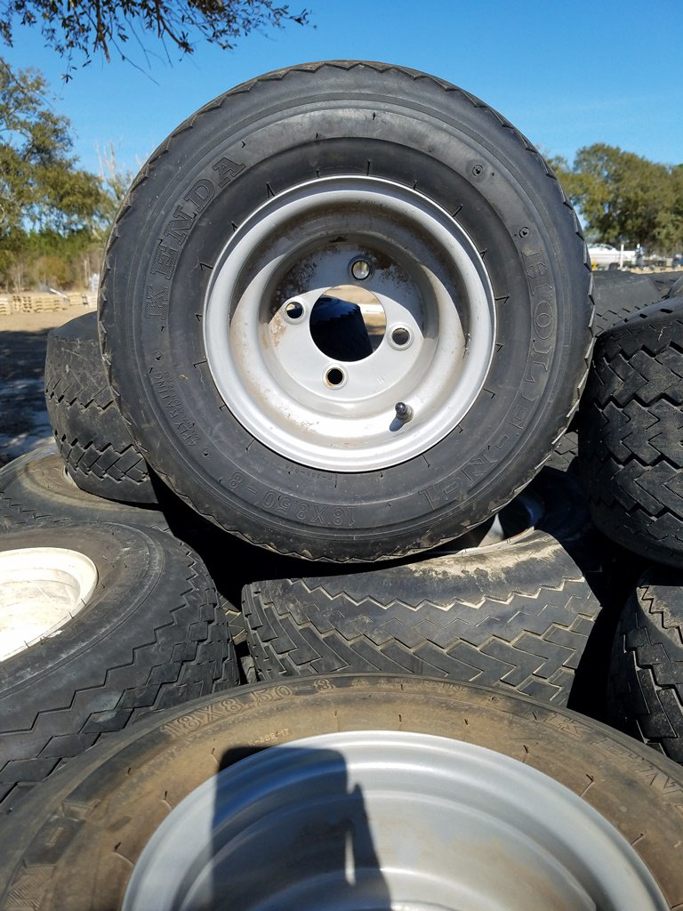 Appox 54 Golf Cart Tires W/ Rims