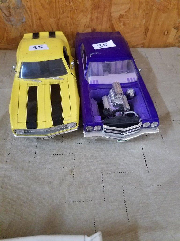 1967 Chevy Camero & 1970 Chevy Chevelle